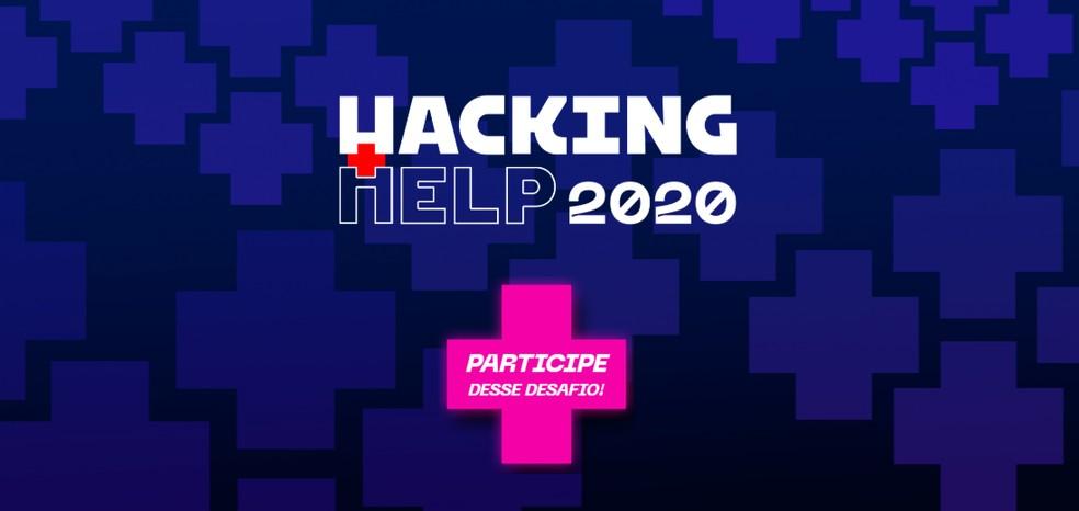 Hacking.Rio cria hackathon online para desenvolver soluções de combate à Covid-19 — Foto: Reprodução/Hacking.Rio