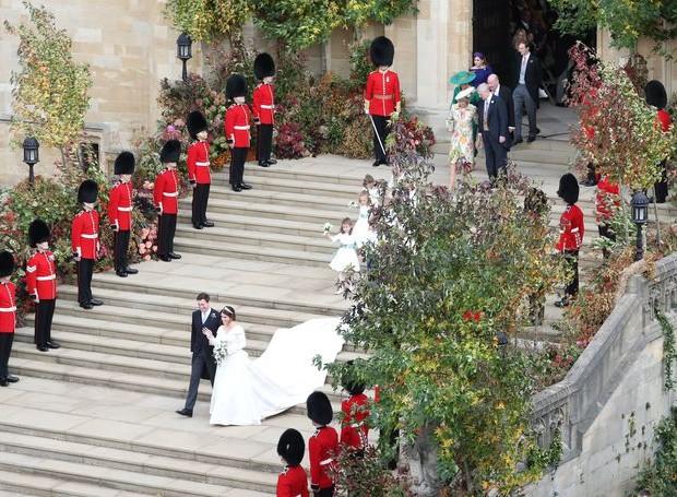 A escadaria era cercada por galhos e árvores (Foto: Getty Images/ Reprodução)