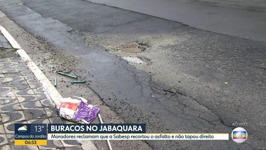 Buracos no Jabaquara
