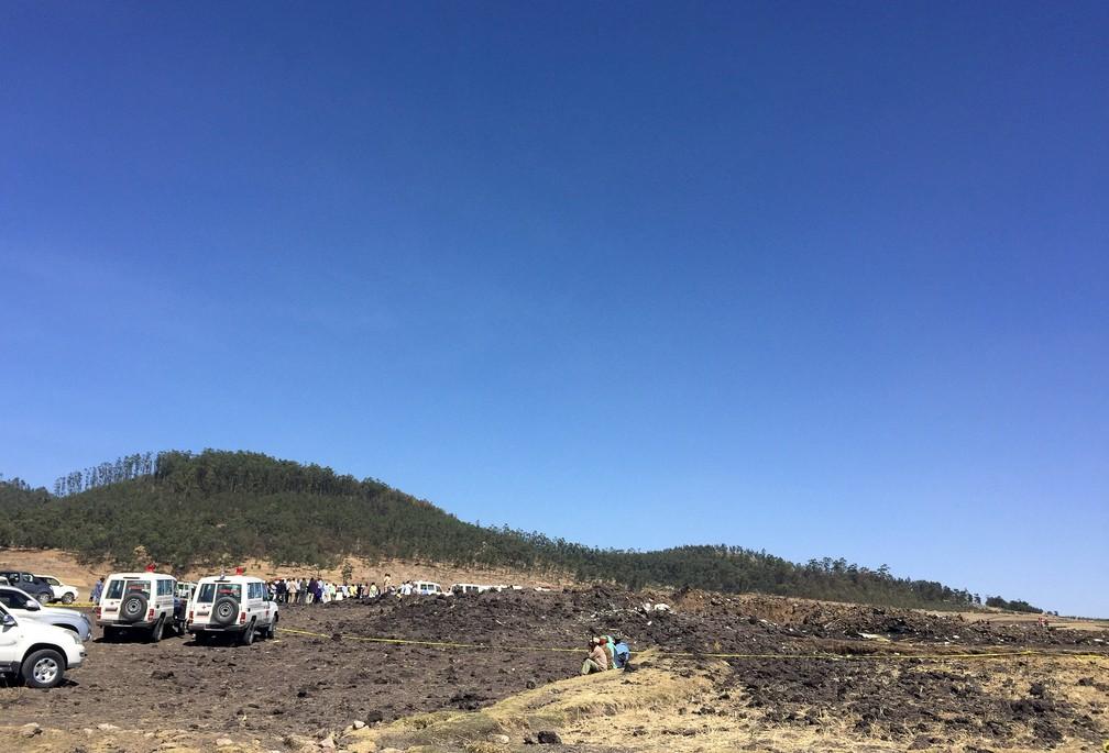 2019 03 10t121548z 1905458067 rc14026c4020 rtrmadp 3 ethiopia airplane - Queda de avião na Etiópia deixa 157 mortos, segundo a companhia aérea