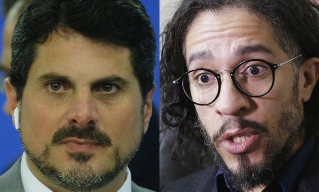 Marcos do Val e Jean Wyllys