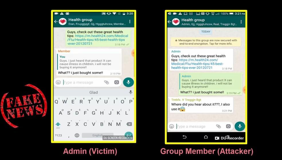 WhatsApp: falha permite alterar conteúdo de respostas no mensageiro (Foto: Reprodução/TechTudo)