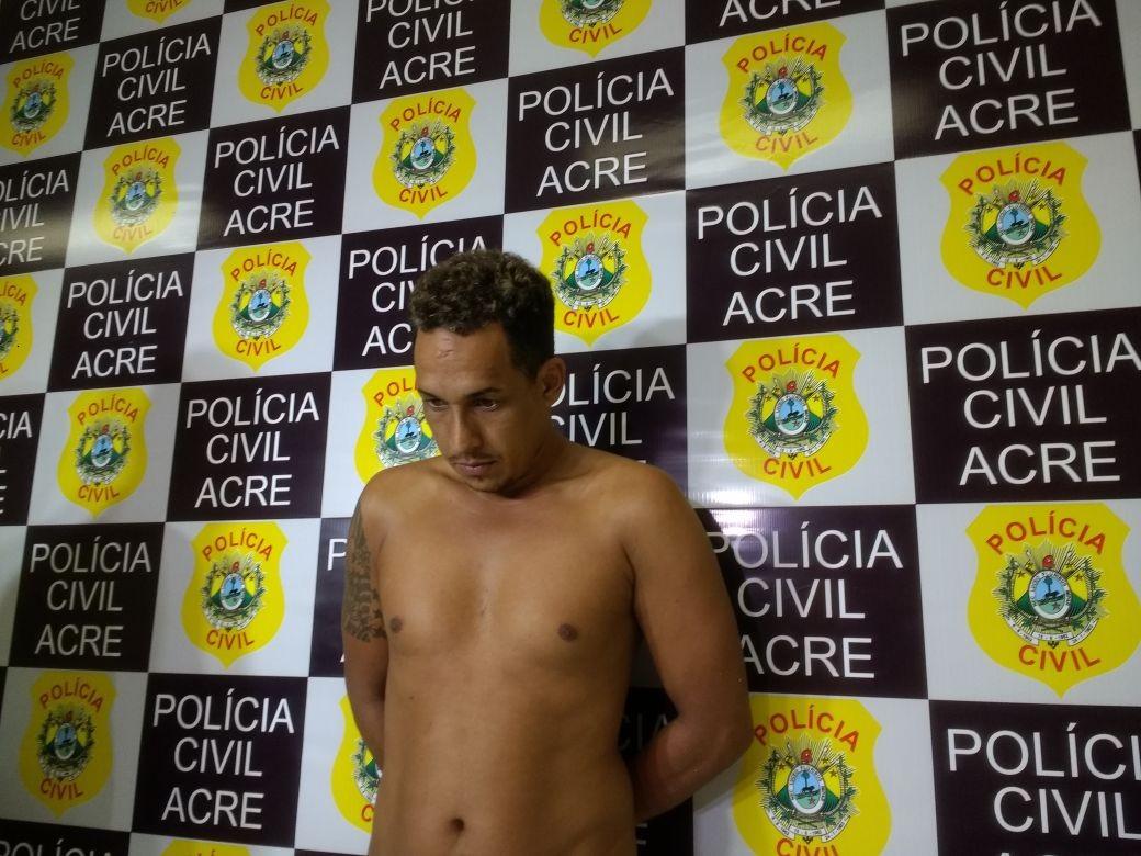 Polícia prende homem que pedia lanches e assaltava entregadores em Rio Branco