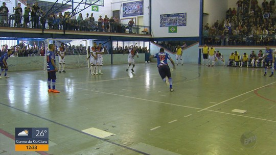 Definidos os quatro semifinalistas da Taça EPTV de Futsal