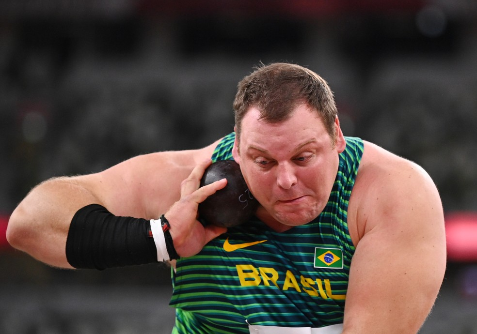 Darlan Romani eliminatórias olimpíadas de toquio — Foto: Reuters