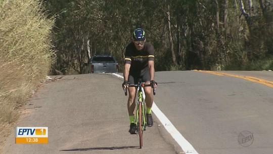 Ciclista de Divinolândia disputa prova com percurso de mais de 1 mil quilômetros na França