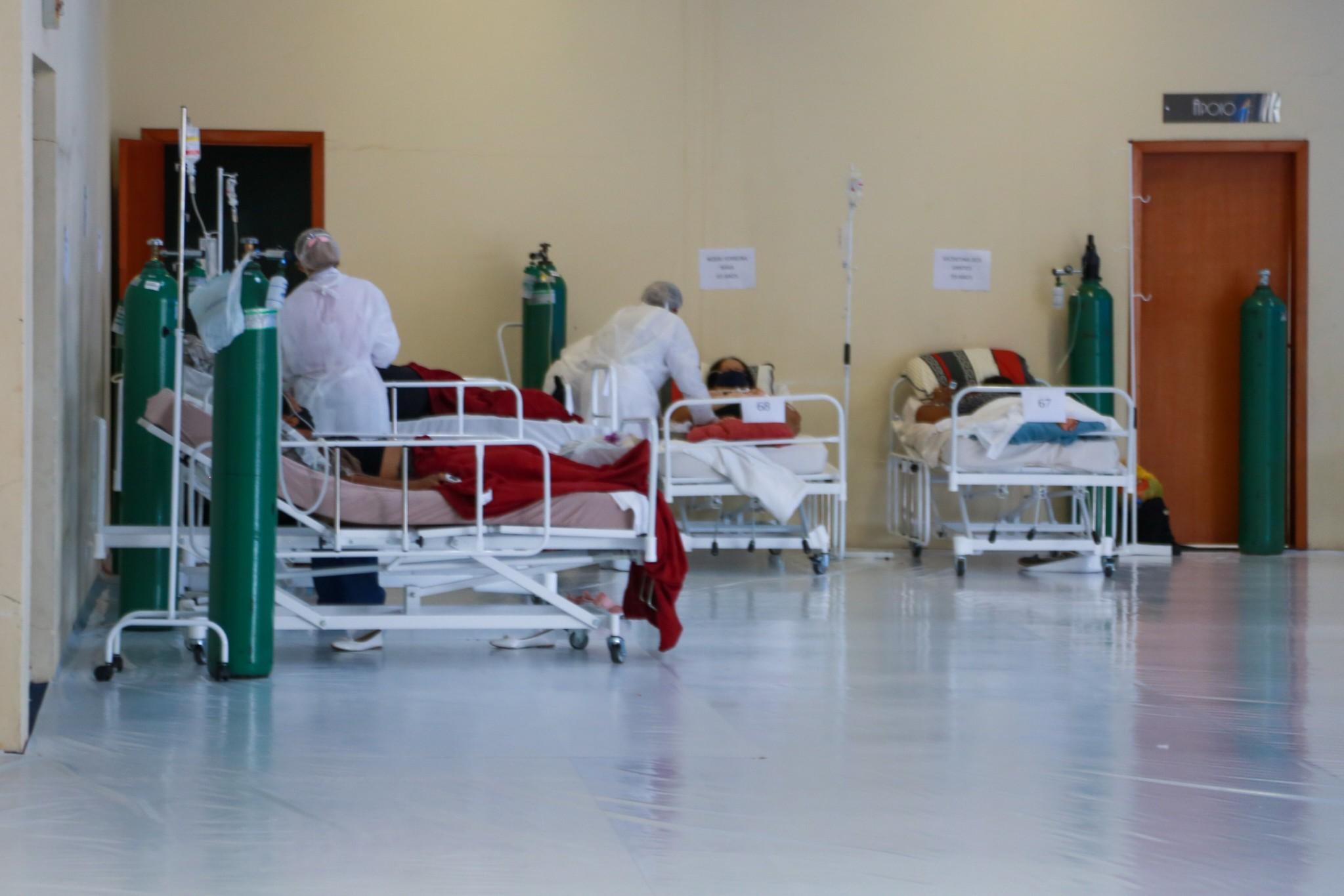 Covid-19: SC tem 7.964 mortes e 390 pacientes à espera de leito de UTI