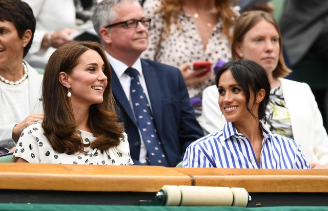 Kate Middleton e Meghan Markle (Foto: Getty)