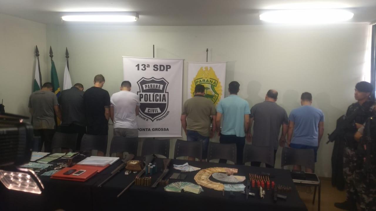 Operação prende empresários de Ponta Grossa suspeitos de organização criminosa - Noticias