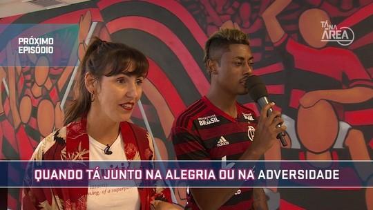 No segundo episódio do Futeokê, veja as perfomances dos jogadores do Flamengo