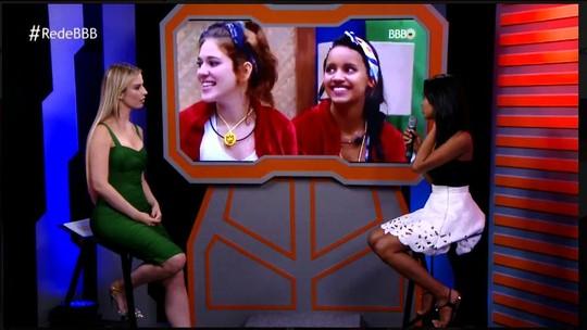 Bate-papo BBB: Gleici fala sobre aproximação com Ana Clara e Wagner