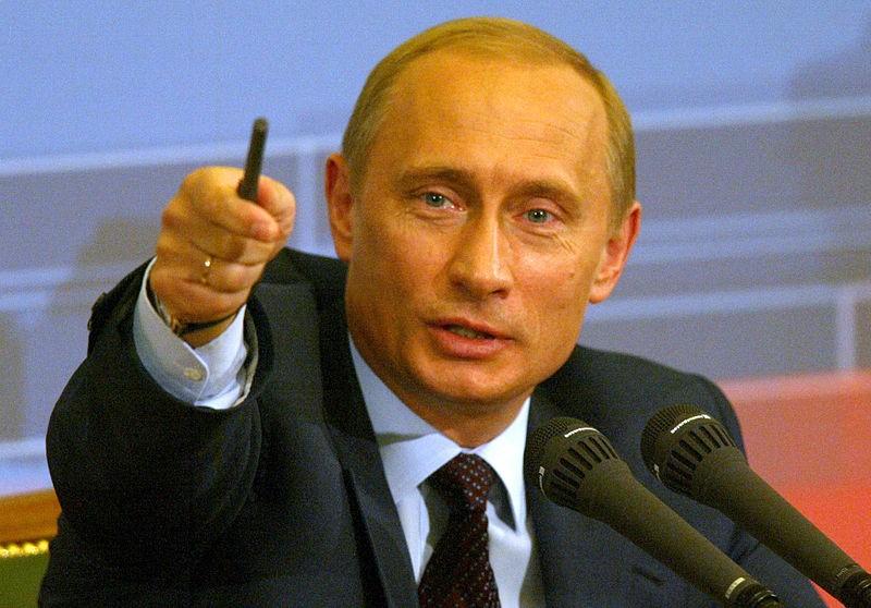 Vladimir Putin (Foto: Wikimedia Commons)