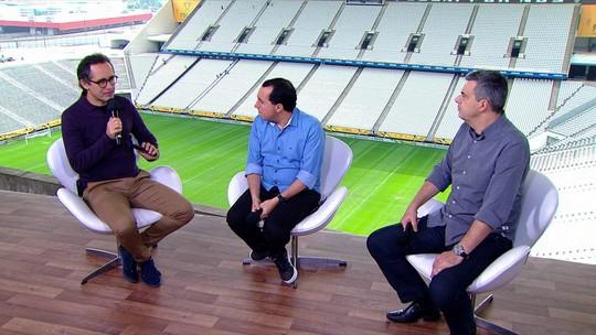 Comentaristas alertam para a pressão que derrotado na Copa do Brasil terá até o fim do ano