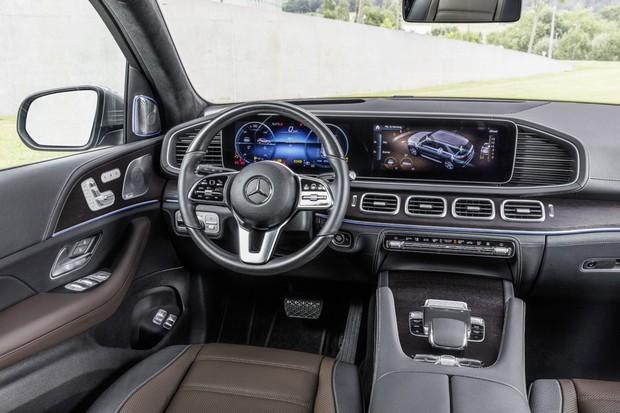 Mercedes GLE 2019 (Foto: Divulgação)