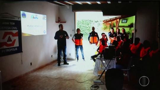 Teste de sirenes no Vale do Cuiabá, em Itaipava, é feito nesta quinta-feira (28)
