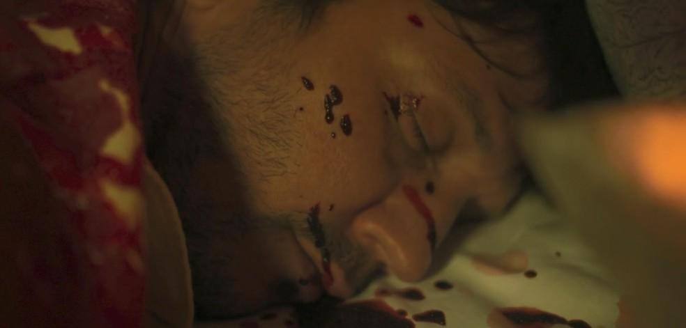 Cena da morte de Remy (Vladimir Brichta) em 'Segundo Sol' — Foto: Reprodução/TV Globo