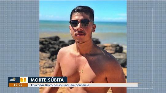 Jovem vítima de morte súbita no ES é enterrado