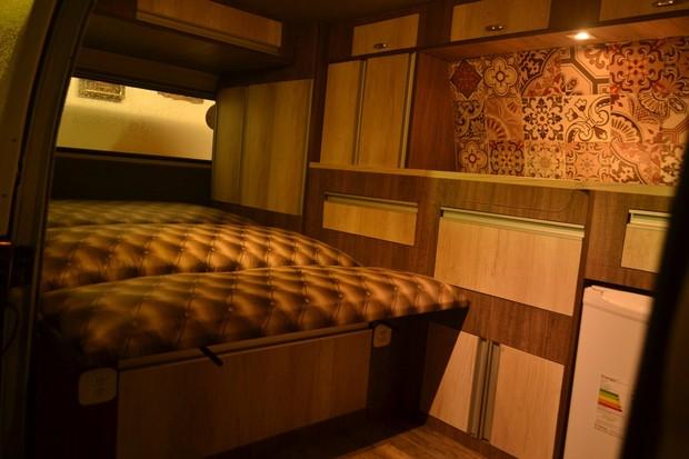 Kombi customizadas como casas superequipadas (Foto: Divulgação)