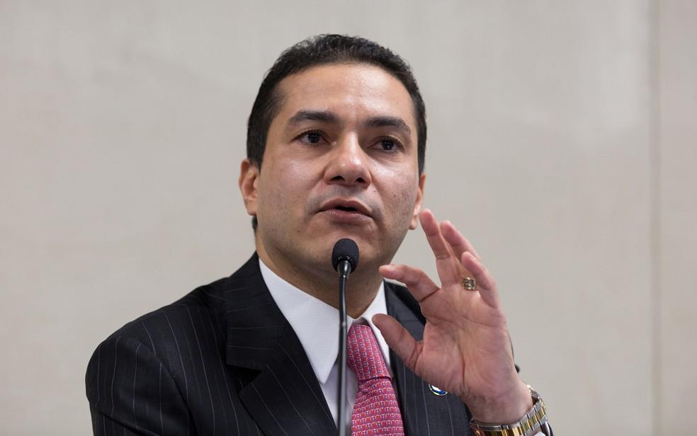 O ex-ministro da  Indústria, Comércio Exterior e Serviços, Marcos Pereira (Foto: Washington Costa/MDIC)