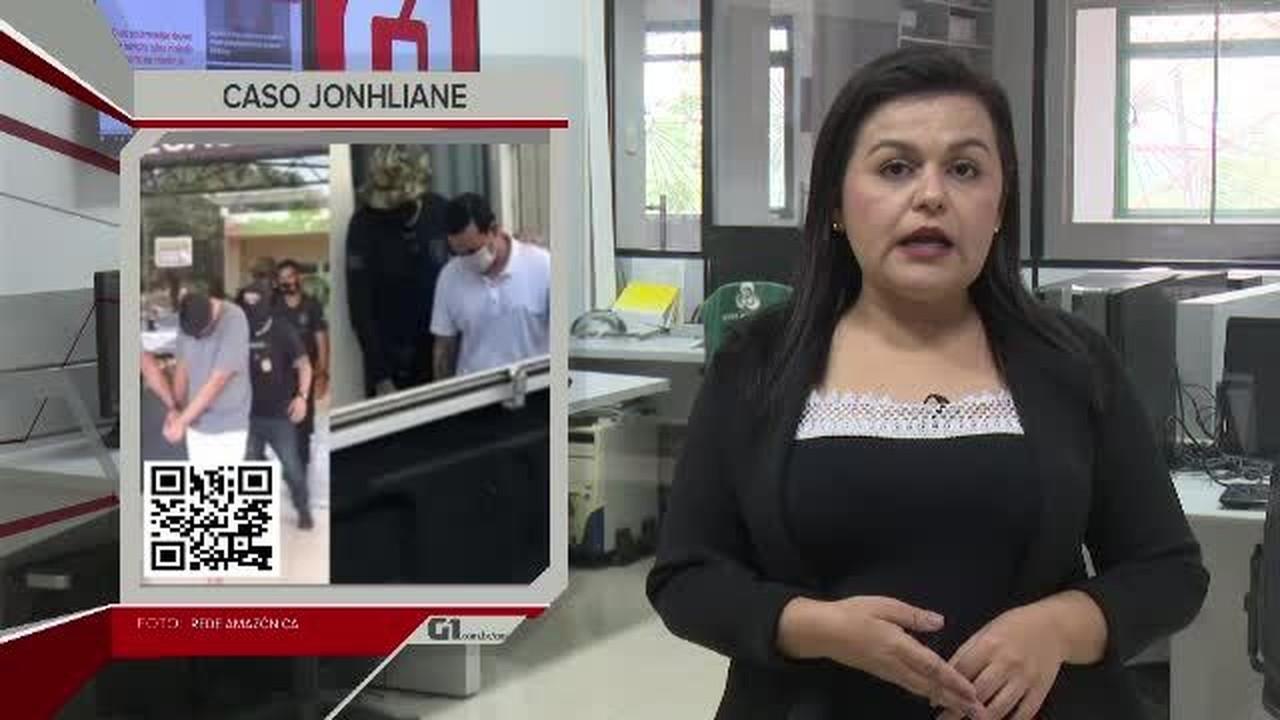 G1 em 1 Minuto - AC: Motoristas envolvidos em racha que matou mulher continuam presos