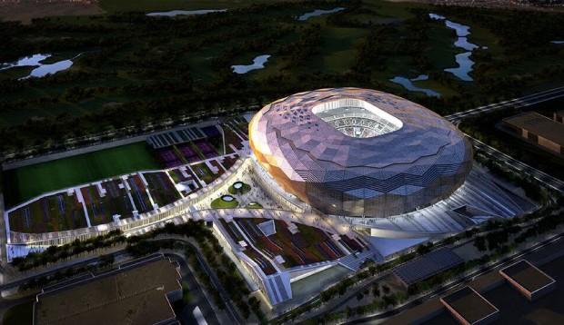 Qatar Foundation Stadium (Foto: Divulgação / Comitê Supremo de Entrega e Legado)