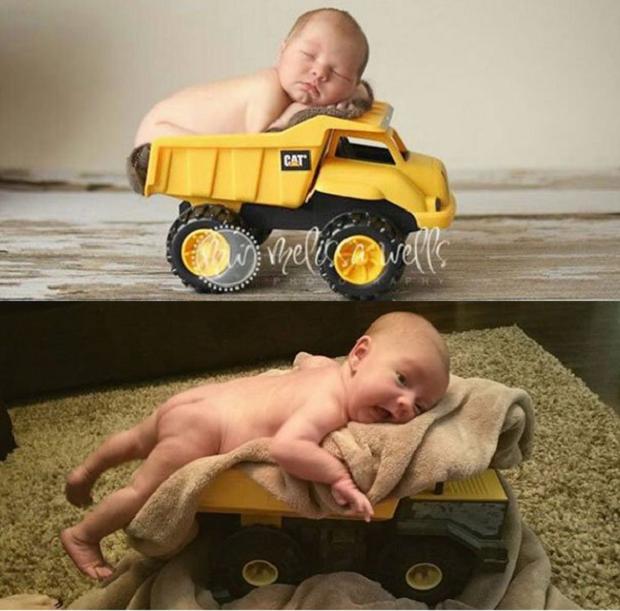 Mesmo quando os pais preparam corretamente o cenário, a disposição do pequeno protagonista faz toda a diferença (Foto: Pinterest)