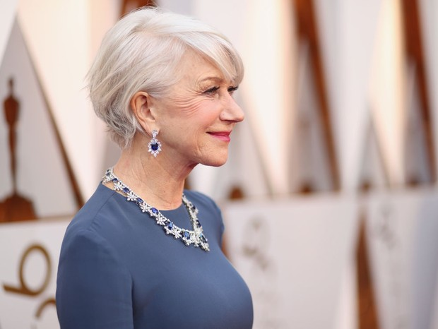 Helen Mirren no Oscar 2018 (Foto: Getty Images )