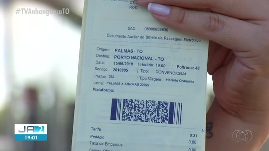 Empresas de ônibus terão que emitir bilhete de passagem eletrônico no Tocantins