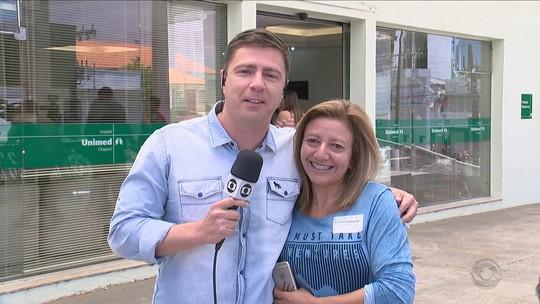 'Não vê a hora de sair do hospital', diz mãe de Alan Ruschel em Chapecó