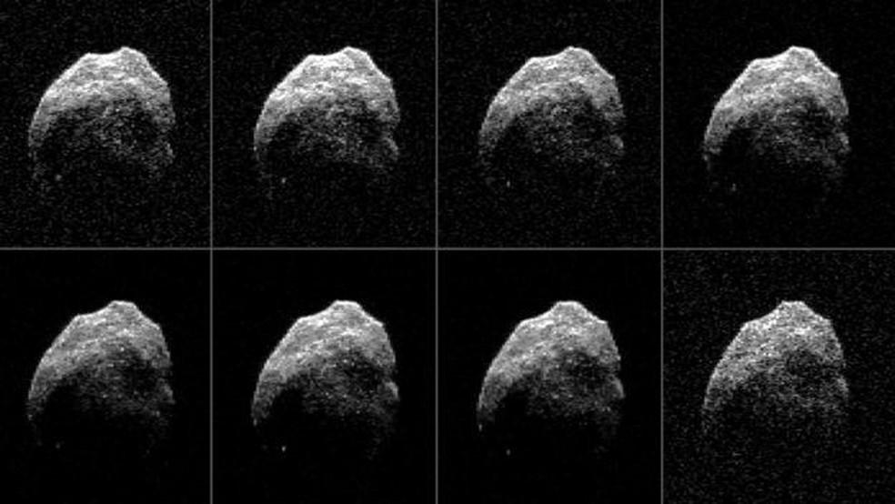 Em 2015, asteroide passou a uma distância equivalente a apenas 1,3 vezes a distância da Terra à Lua (Foto: Nasa)