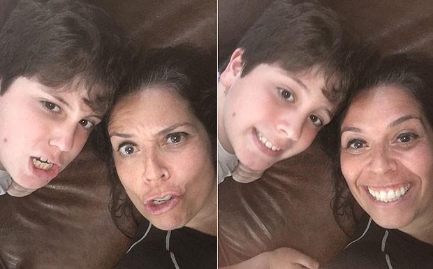 António e a mãe, Lana (Foto: Acervo pessoal)