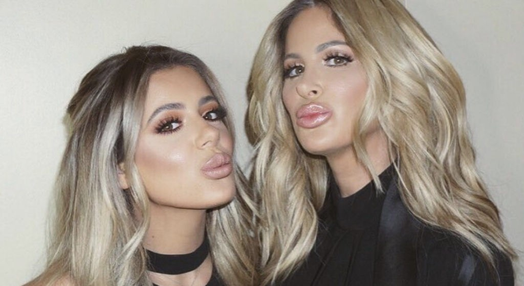 Kim Zolciak-Biermann e a filha Brielle (Foto: Instagram)