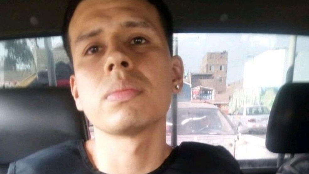 -  Alexander Delgado foi recapturado um ano depois de deixar o irmão gêmeo na cela  Foto: Ministério do Interior de Peru via BBC