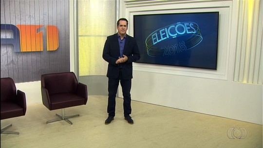 TV Anhanguera divulga cronograma de entrevistas aos candidatos ao Governo de Goiás; veja datas