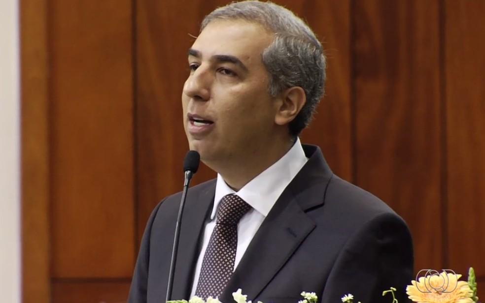 Governador de Goiás José Eliton (PSDB) é alvo de mandado de busca e apreensão — Foto: Reprodução/TV Anhanguera