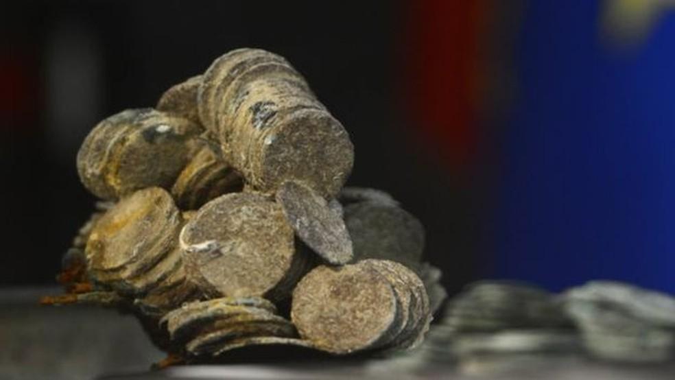 Custos operacionais da investigação arqueológica podem ser maiores do que o valor do próprio naufrágio, diz arqueólogo marinho (Foto: AFP)