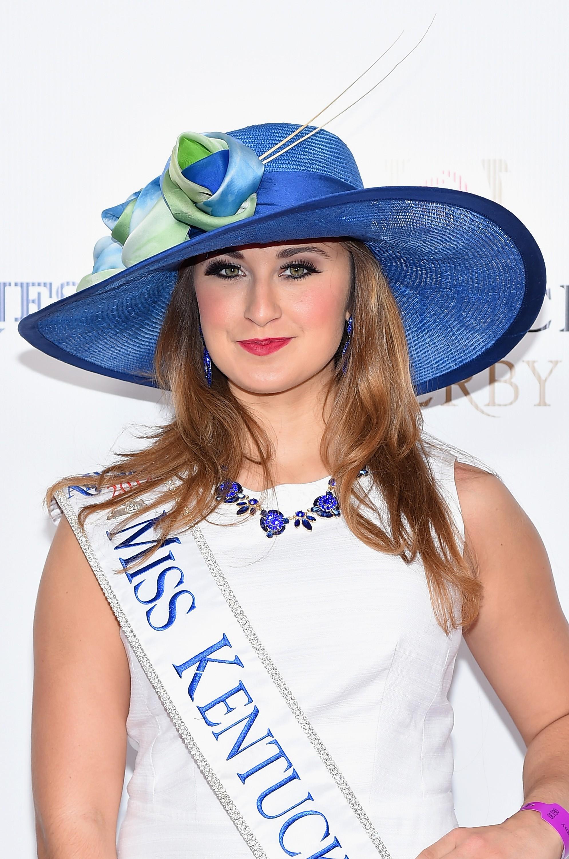 A ex-Miss Kentucky Ramsey Bearse quando disputou o título de Miss America em 2015 (Foto: Getty Images)