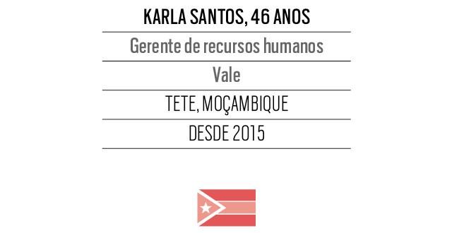 Karla Santos, 46 anos, Gerente de recursos humanos Vale (Foto: Divulgação)