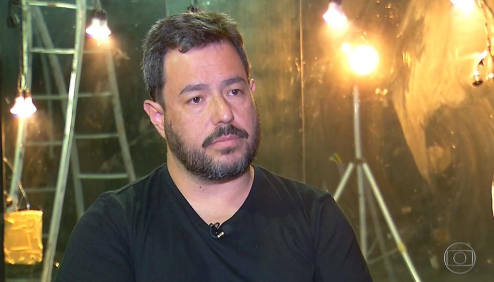 Fernando Yanamoto, diretor do grupo Clowns de Shakespeare  — Foto: Reprodução/TV Globo