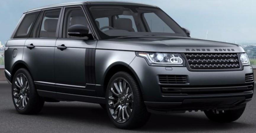 Range Rover Black chega ao Brasil (Foto: Divulgação)