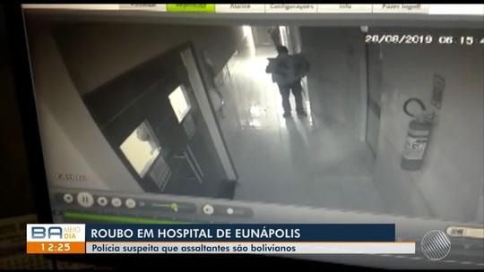 Equipamento de endoscopia é roubado de hospital particular em Eunápolis