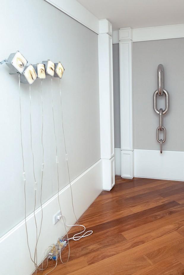Instalações de Jaques Faing e Studio Rain.  (Foto: João Viegas e Fran Parente (Divulgação) )