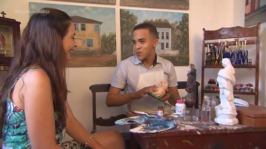 Jovem de 18 anos restaura peças seculares em Taperoá