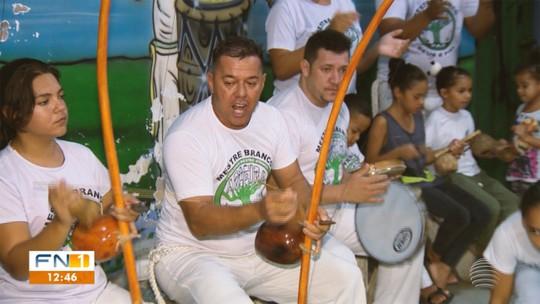 """Mestres do Esporte: """"Paizão"""" estima ter ensinado 10 mil alunos em mais de 30 anos de capoeira"""