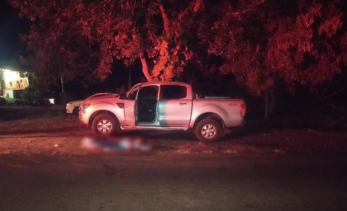Idoso morre atropelado por caminhonete na PR-487