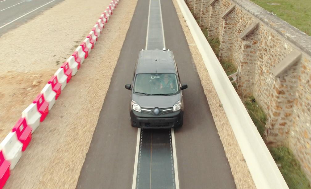 1887c370c ... Qualcomm testa recarga sem fio de carros elétricos na França — Foto:  Divulgação