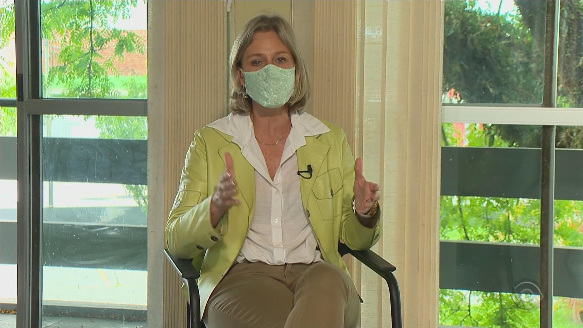 Prefeita reeleita Paula Mascarenhas fala sobre proposta de construir um novo hospital em Pelotas