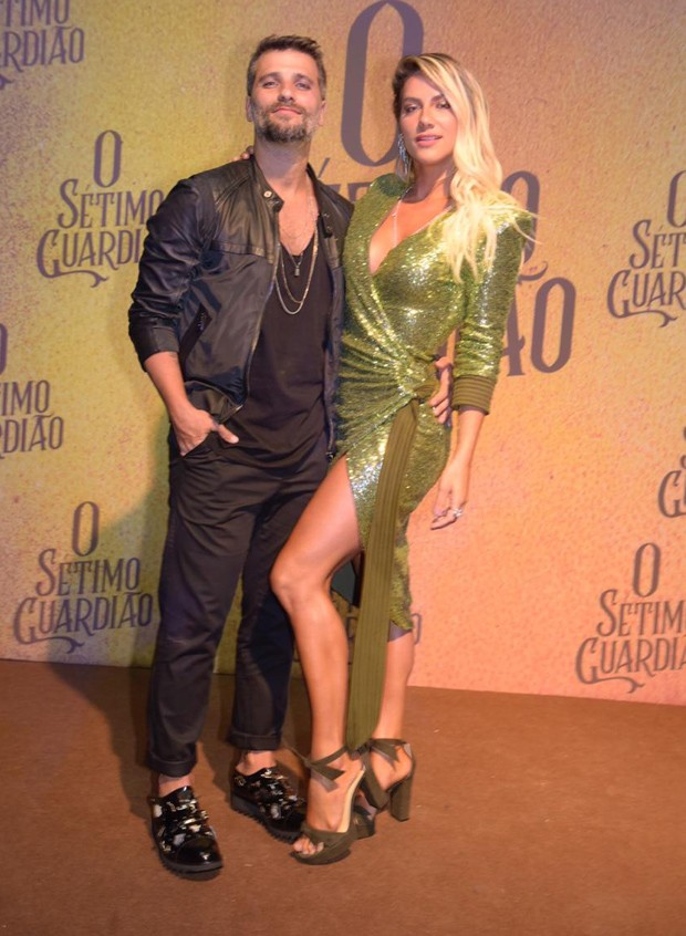 Giovanna Ewbank e Bruno Gagliasso (Foto: Selmy Yassuda/Ed. Globo)