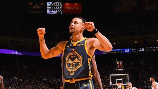 Sossegados, Warriors fazem o serviço, dominam Grizzlies e encostam mais na ponta do Oeste