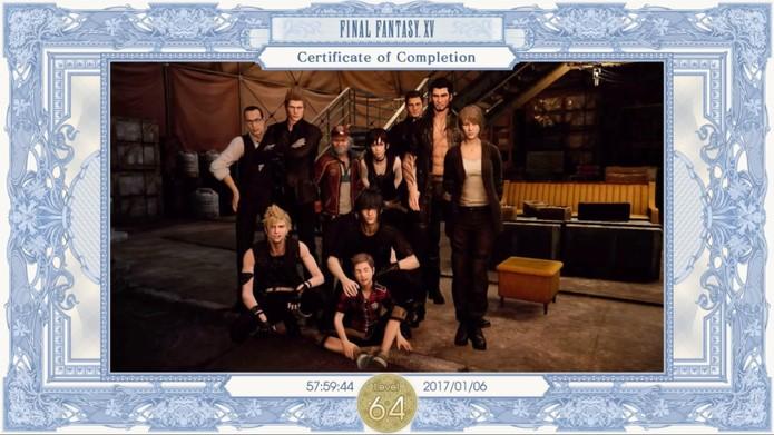 Fim do jogo? Final Fantasy XV reserva muitos desafios após o fim da campanha (Reprodução/ Cássio Barbosa)